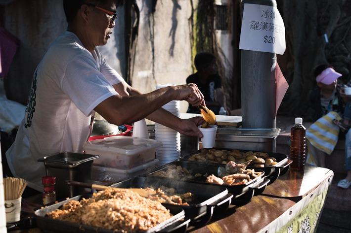 Street Snacks on Cheung Chau Island
