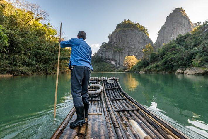 Wuyishan: Bamboo Rafting Down Jiuqu River