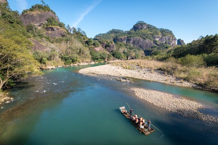 Wuyishan Rafting River