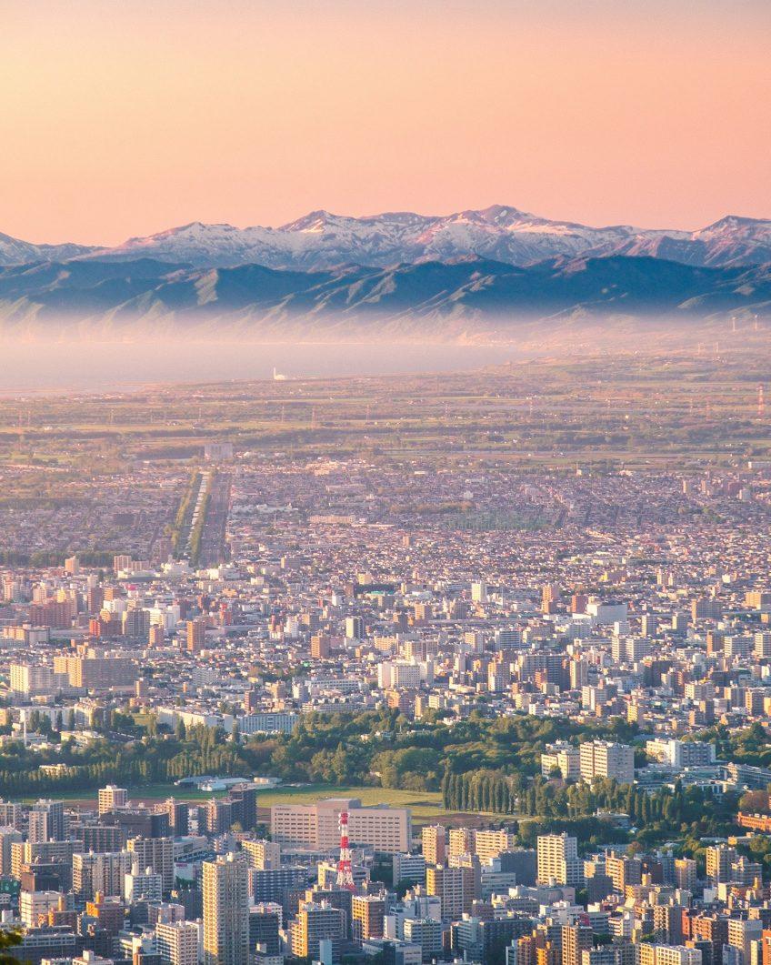 Mount Moiwa Sunset - Sapporo, Japan