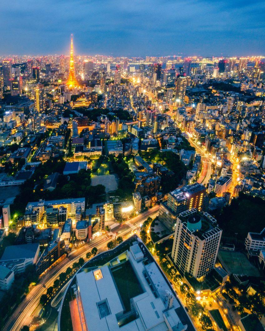 Tokyo Night Views - Tokyo, Japan