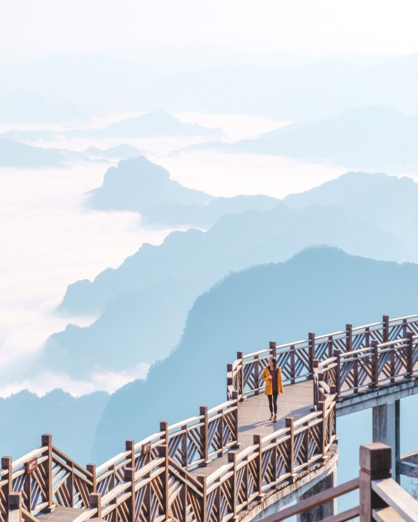 Cloud Nine - Tianmen Mountain, China