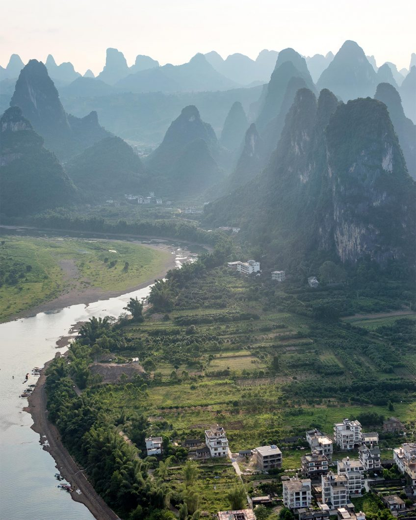 Karst Peak Mountains - Yangshuo, China