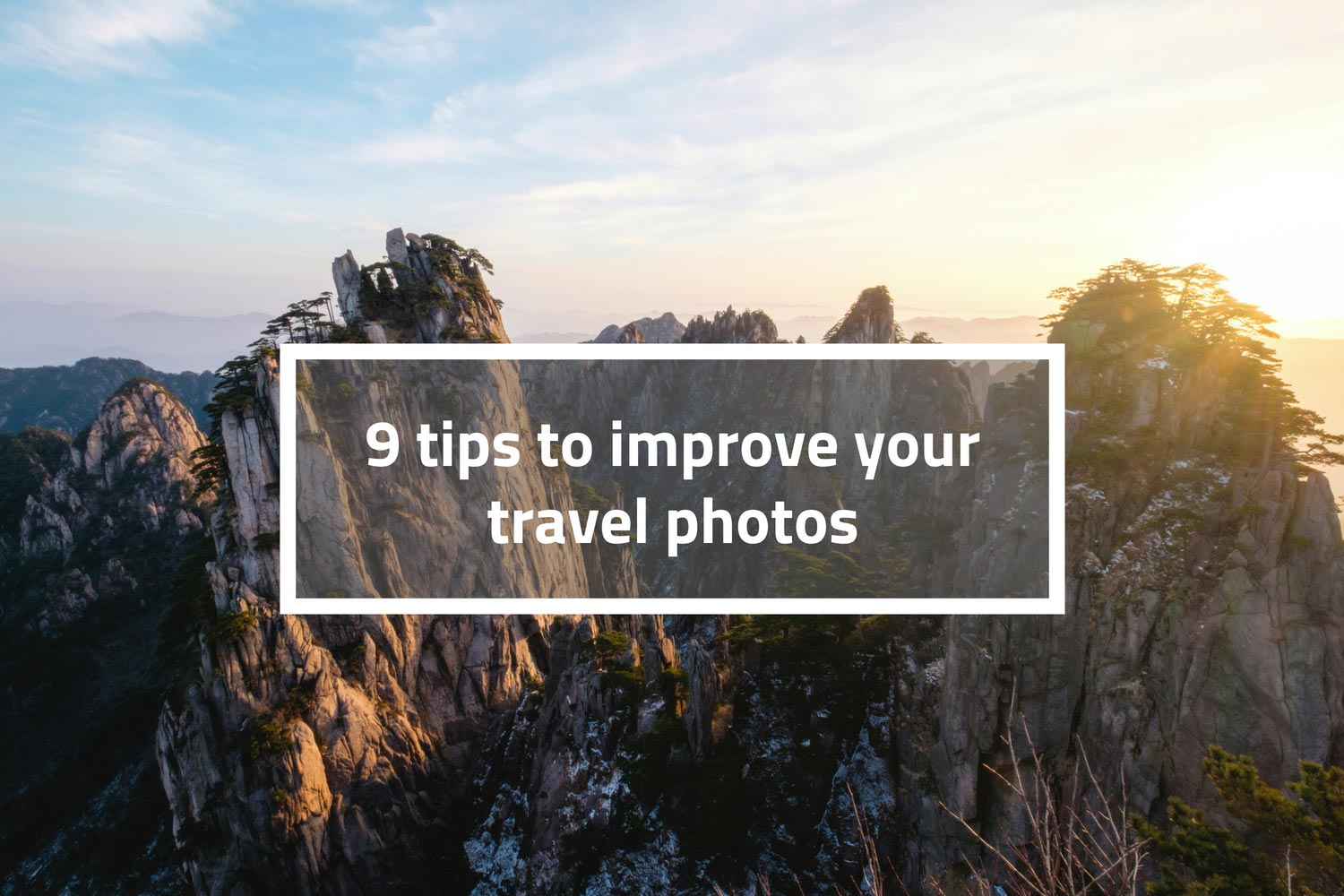 improve your travel photos