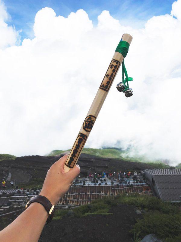 Mini Mt Fuji Walking Stick