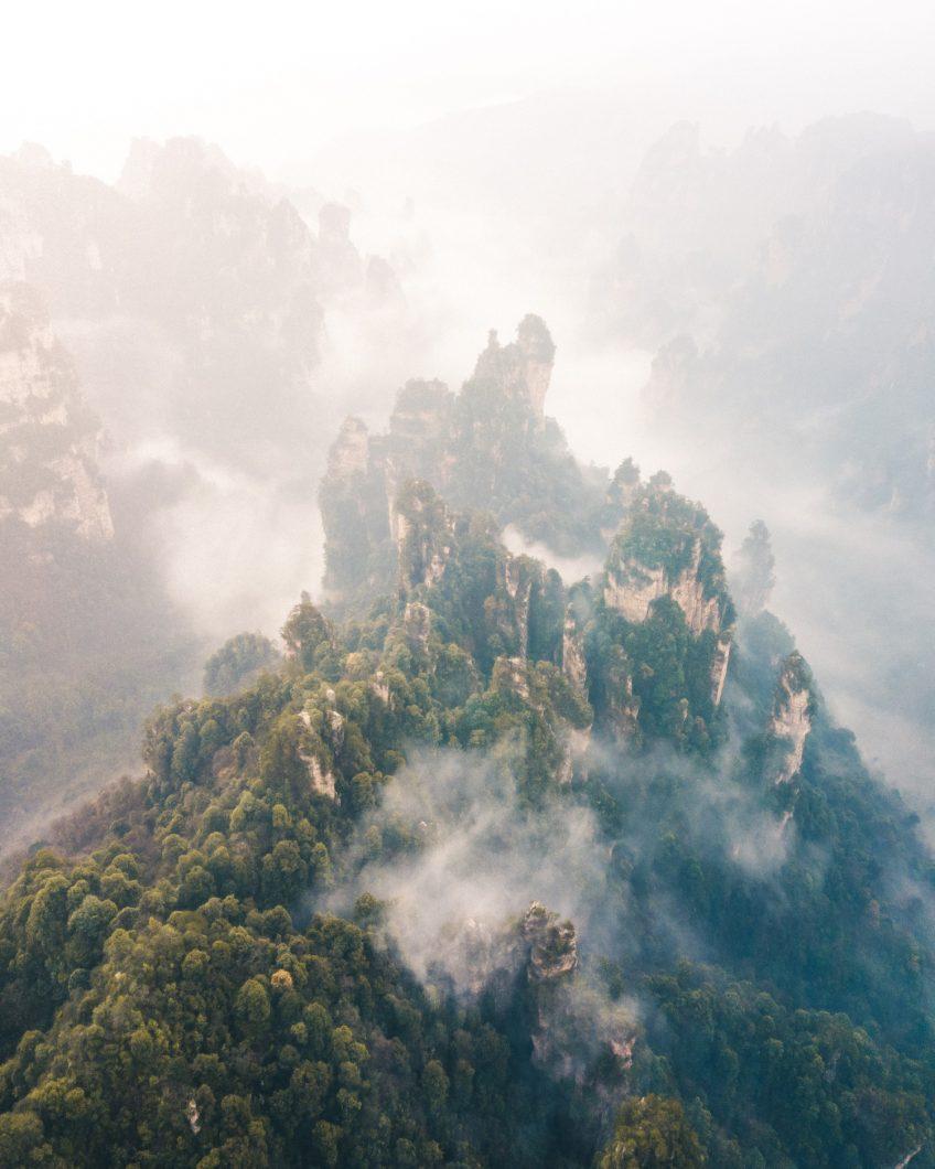 Sea of Clouds - Zhangjiajie, China