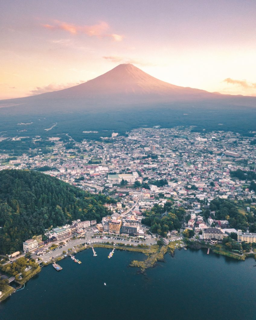 Peak Sunrise - Mount Fuji, Japan