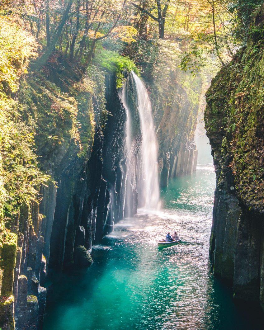 Manai Falls - Miyazaki, Japan