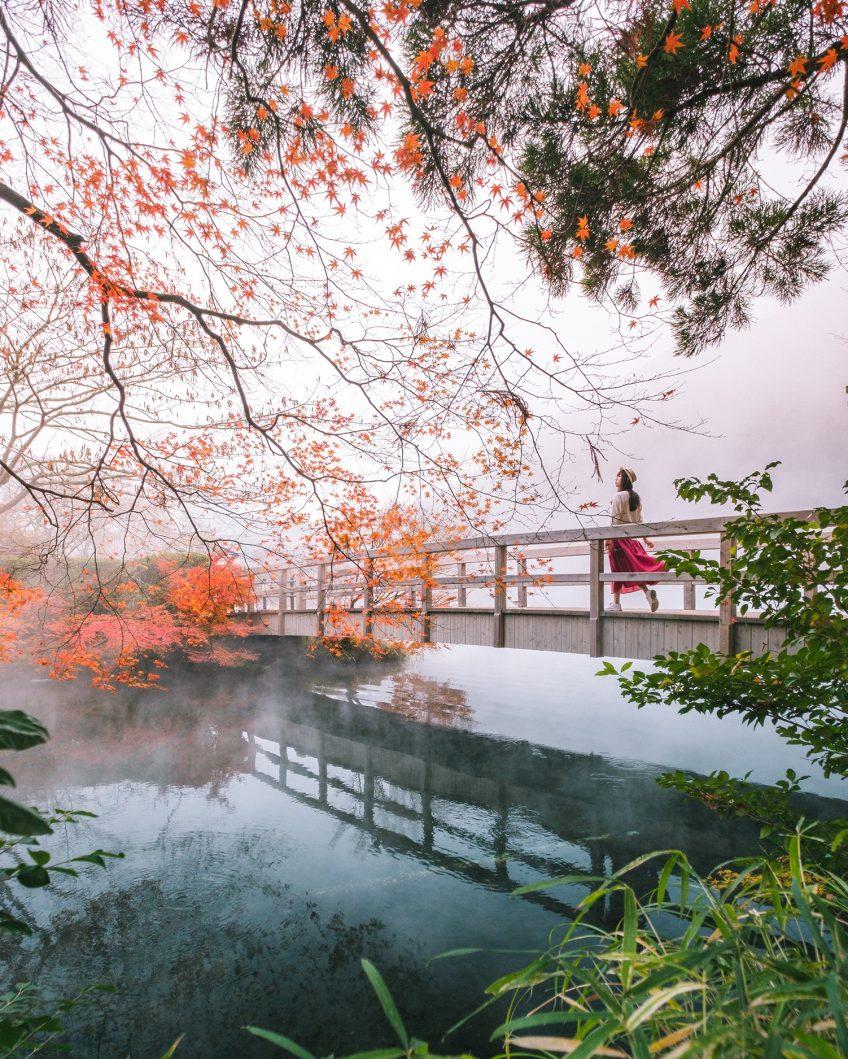 From Summer to Autumn - Kirin Lake, Japan