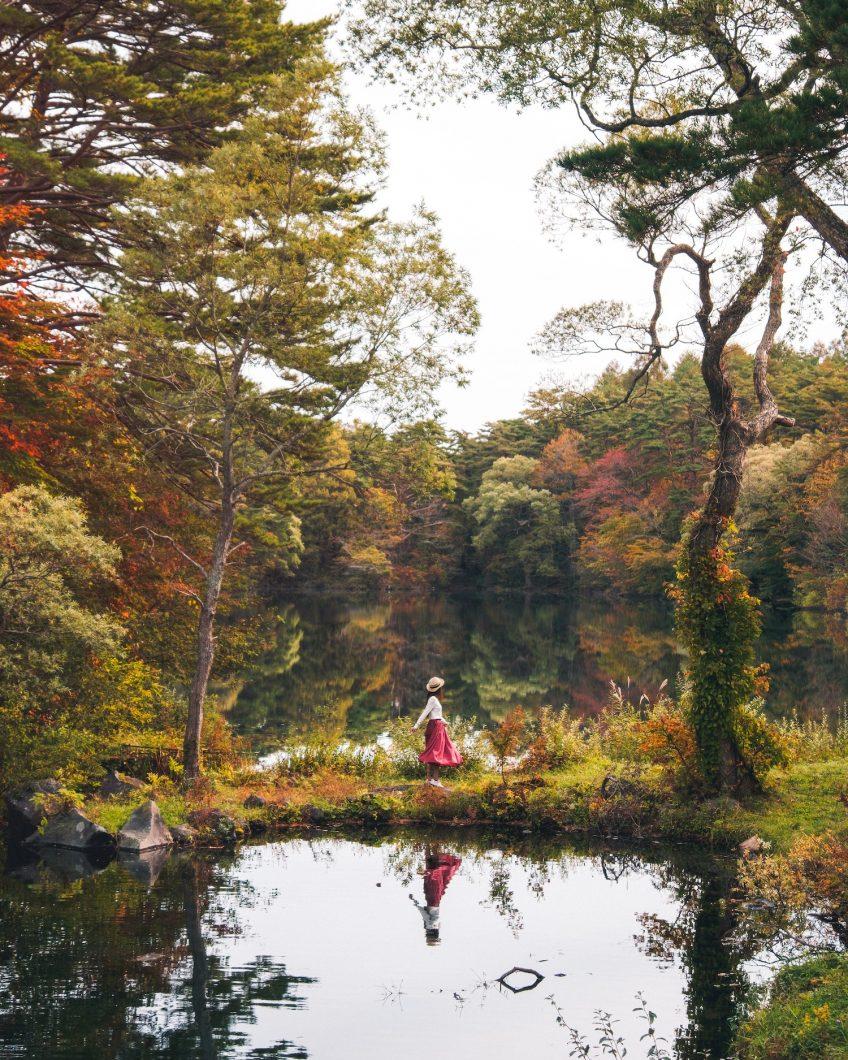 Autumn Reflections Goshikinuma Lakes - Fukushima, Japan